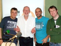 Appearing on Bob Harris' BBC Radio 2 show with Mark Butcher